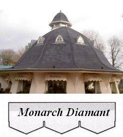 bitumenový šindel Monarch Diamant