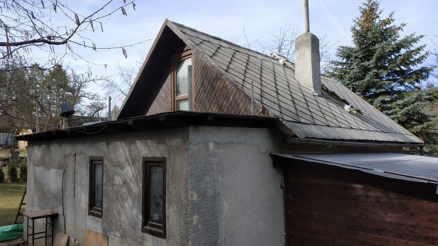 Oprava střechy - Plechová krytina