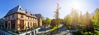 úspěšná střecha - Hotel Lomnica